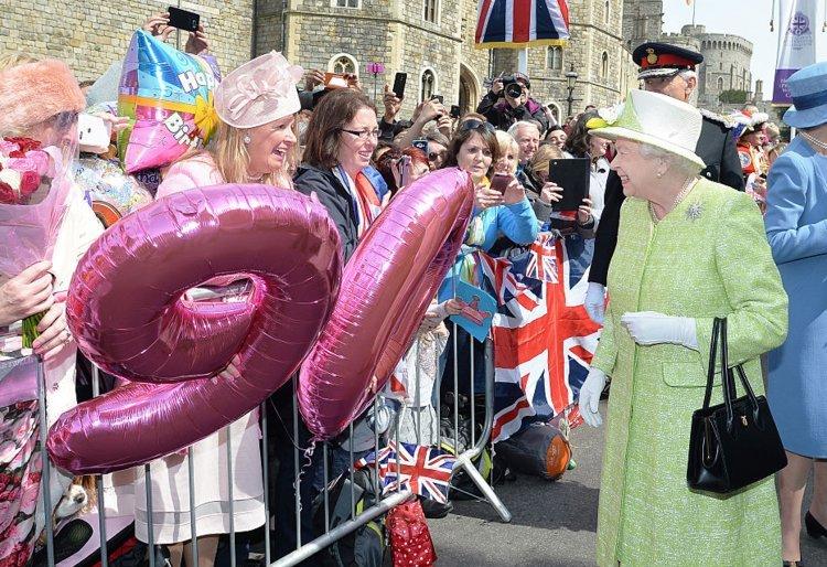 Елизавете II день рождения