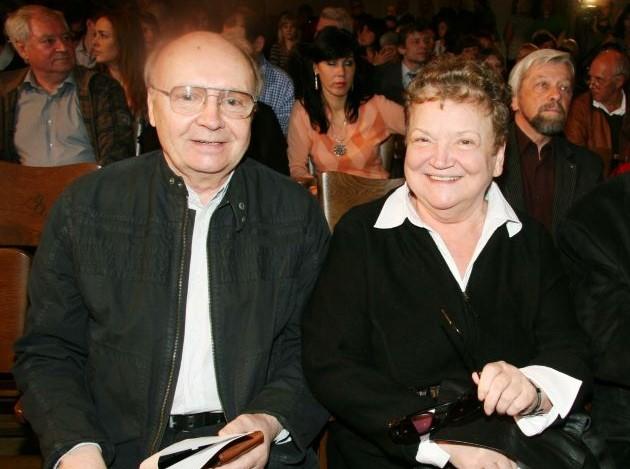 Анастасия Вознесенская и Андрей Мягков