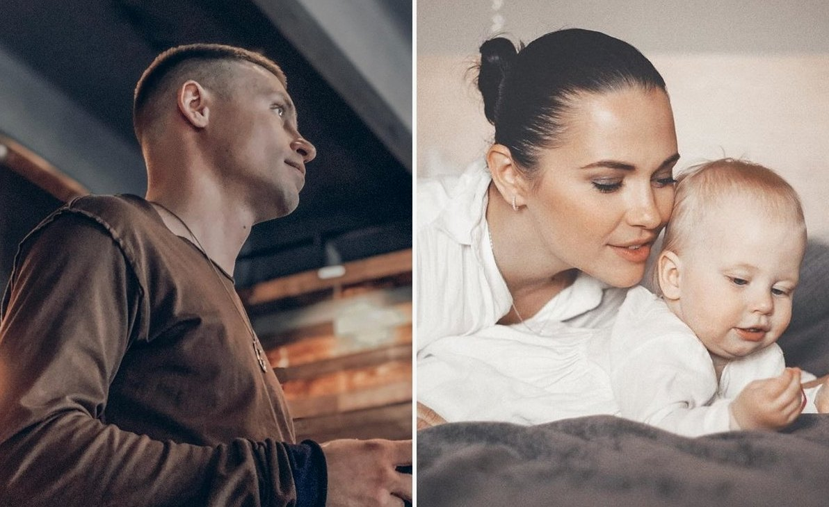 Александр Головин и дочь Оливия