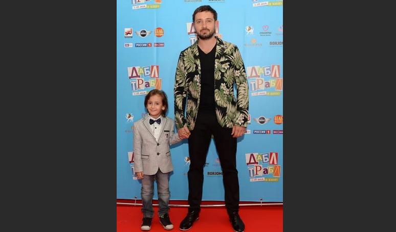 Даниила Белых с сыном