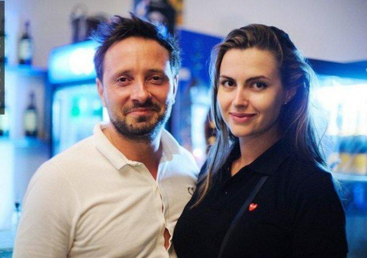 Даниила Белых с женой