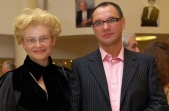 Елена Малышева с мужем