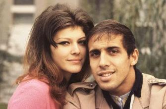 Адриано Челентано с женой