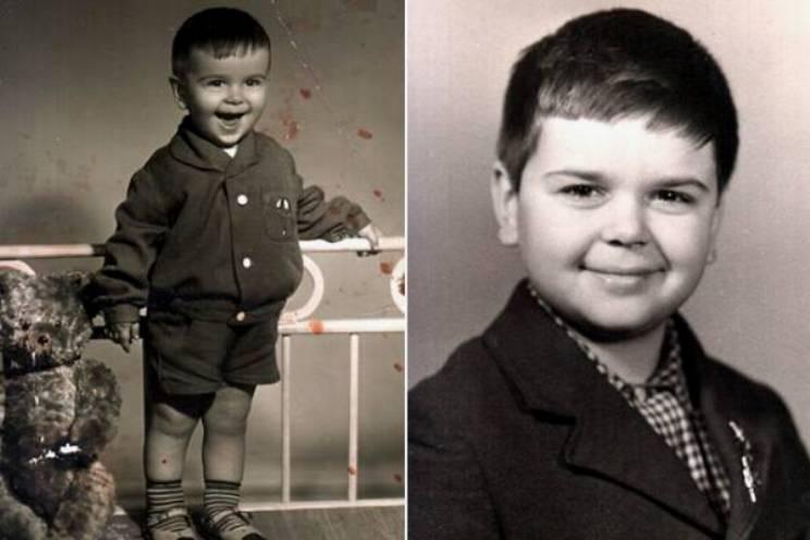 Сергей Рост в детстве