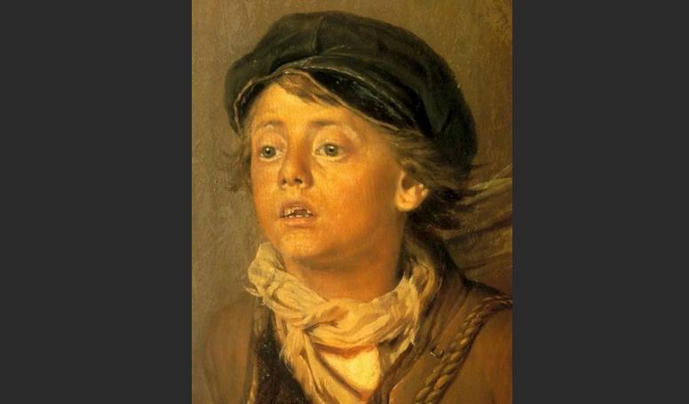 Главный персонаж в картине Тройка