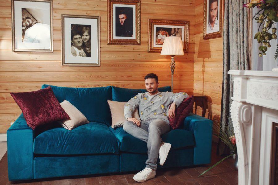 Загородный дом певца Сергея Лазарева