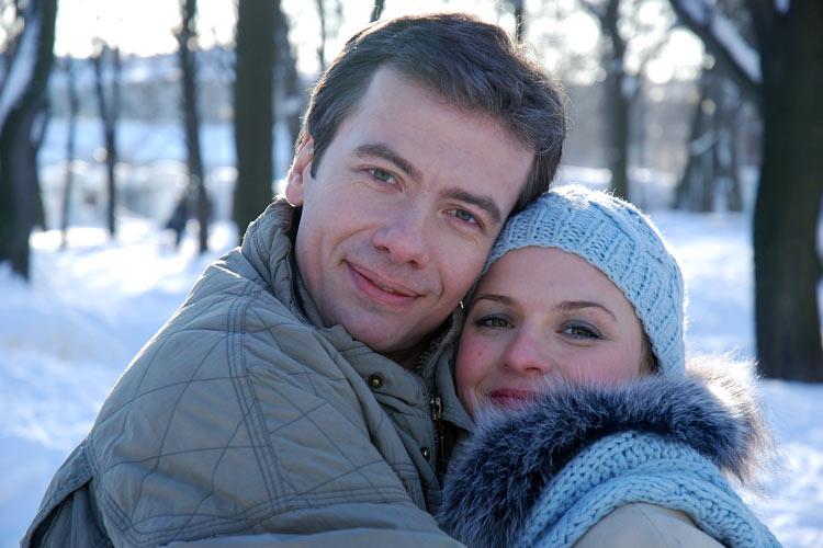 Андрей Кузнецов с женой