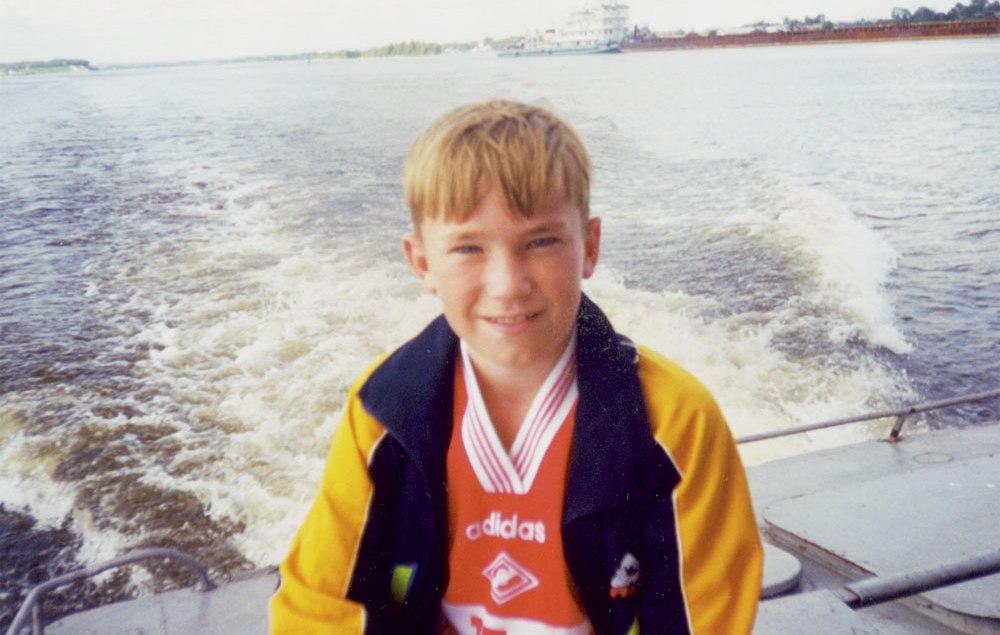 Александр Петров в детстве
