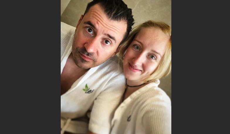 Евгений Миллер с женой Екатериной