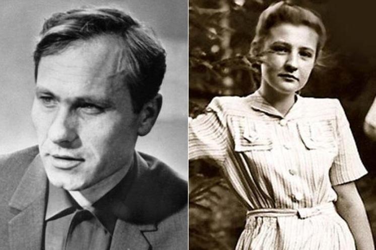 Василий Шукшин и Виктория Сафронова