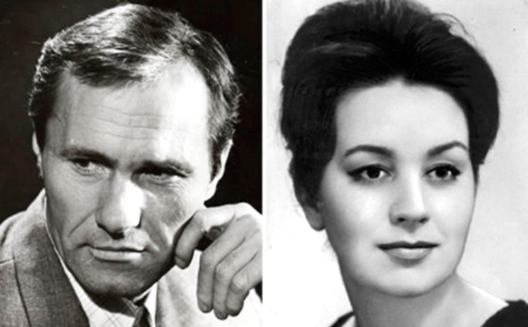 Василий Шукшин и Лидия Александрова