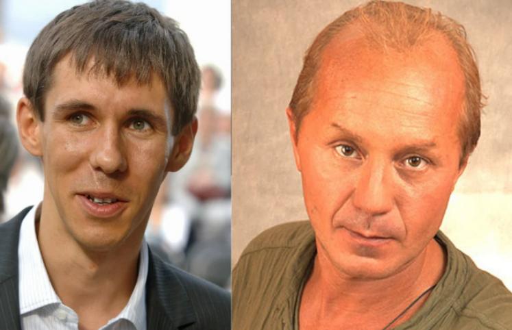 Алексей Панин и Андрей Панин