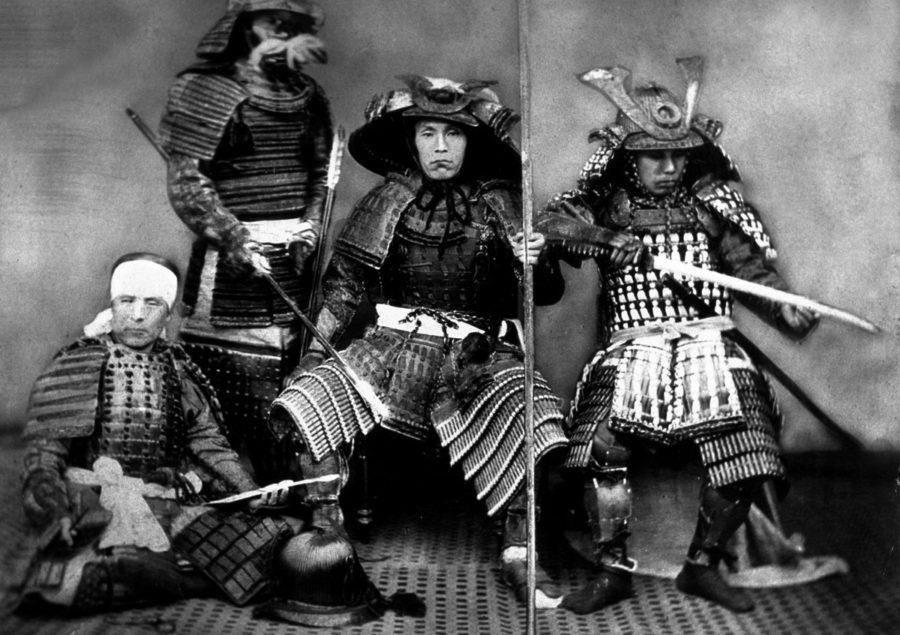 Японские воины