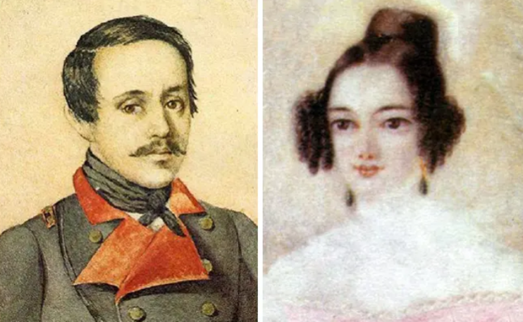 Михаил Лермонтов и Екатерина