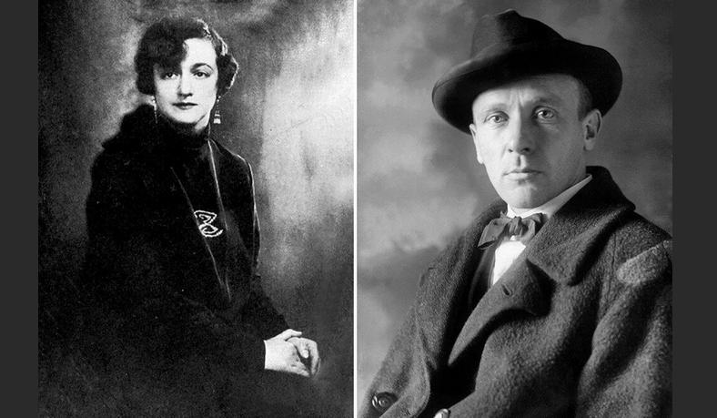 Михаил Булгаков и Елена