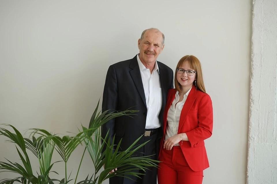 Вика и Борис Яковлевич